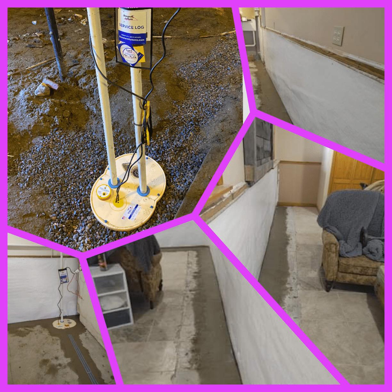 Basement & Crawlspace Waterproofing in Warner, New Hampshire, by Matt Clark's Northern Basement Systems.