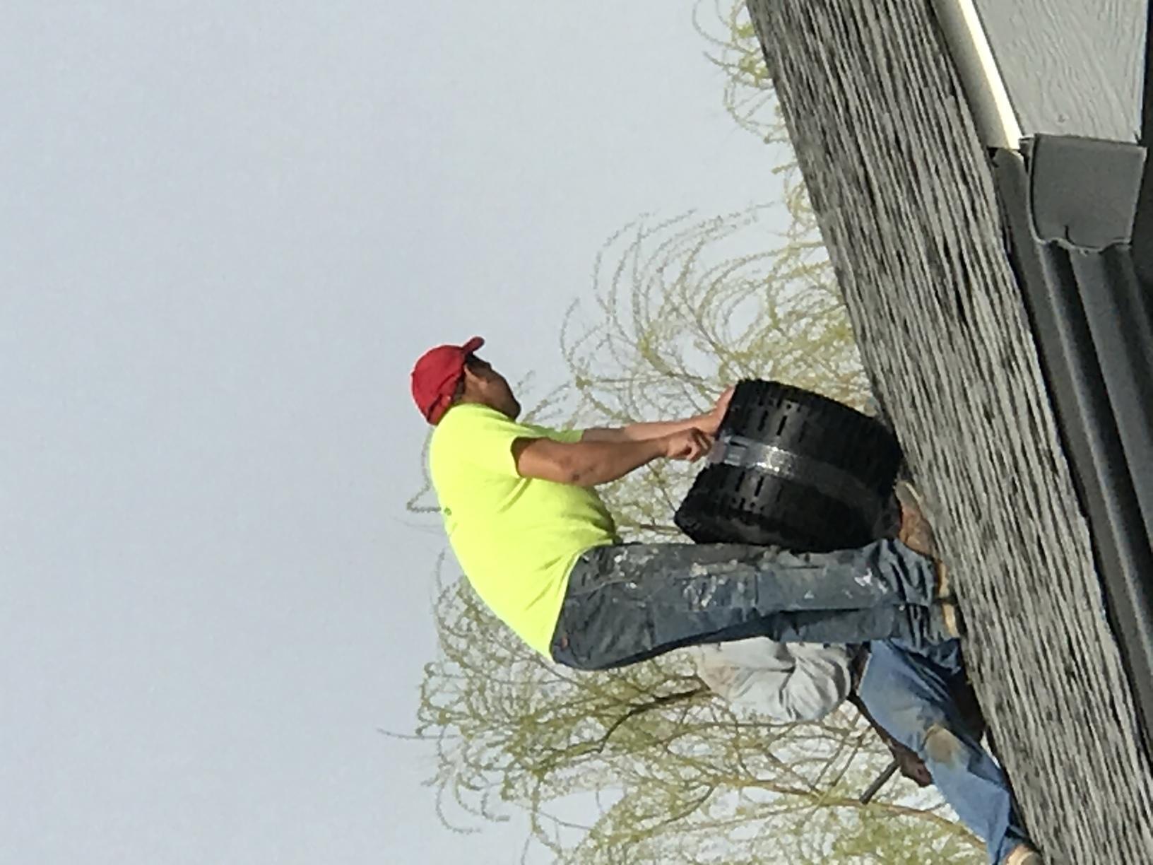 Roof Ridge Vent Installation