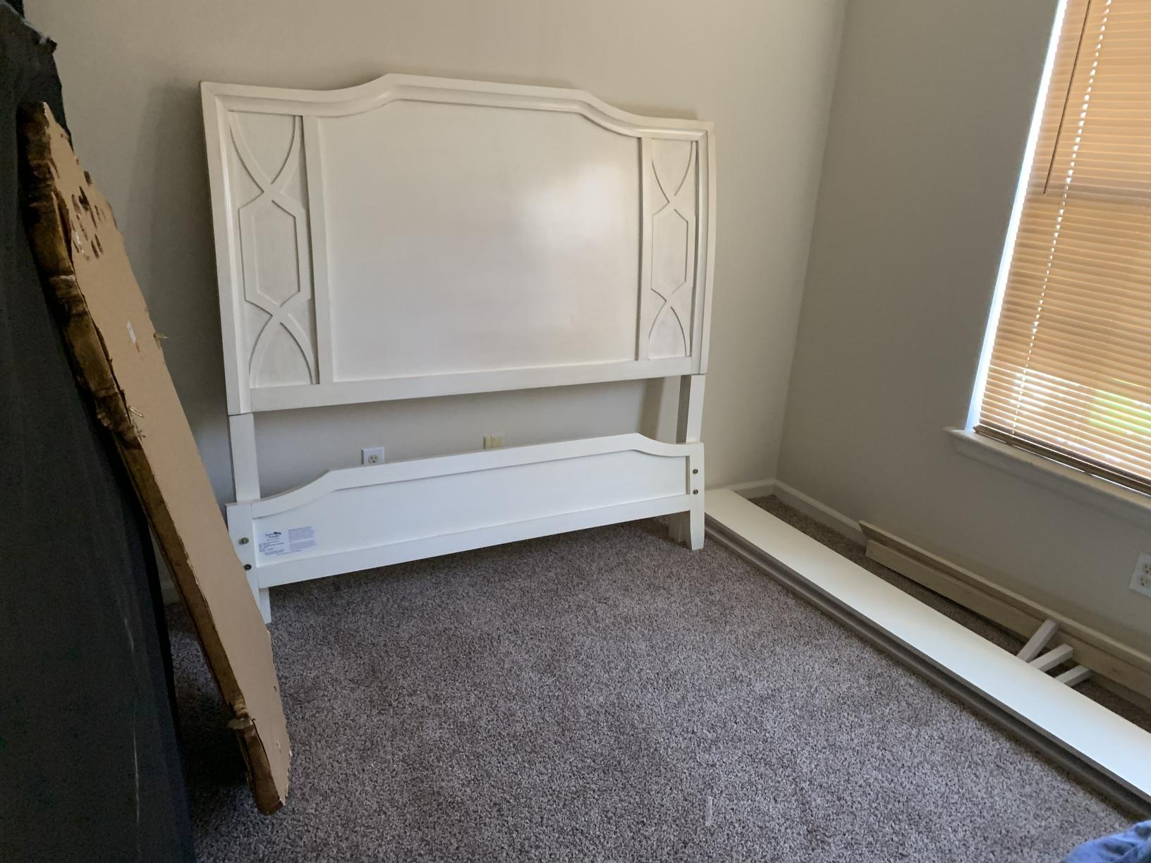 Bed Frame and Mirror