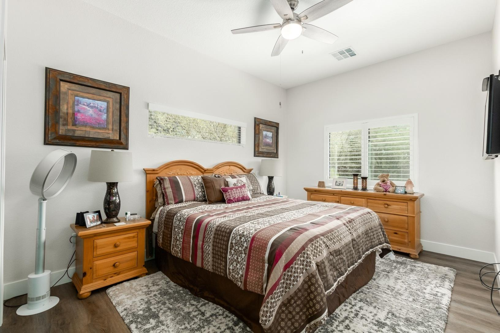 Master Bedroom in Scottsdale Guest House