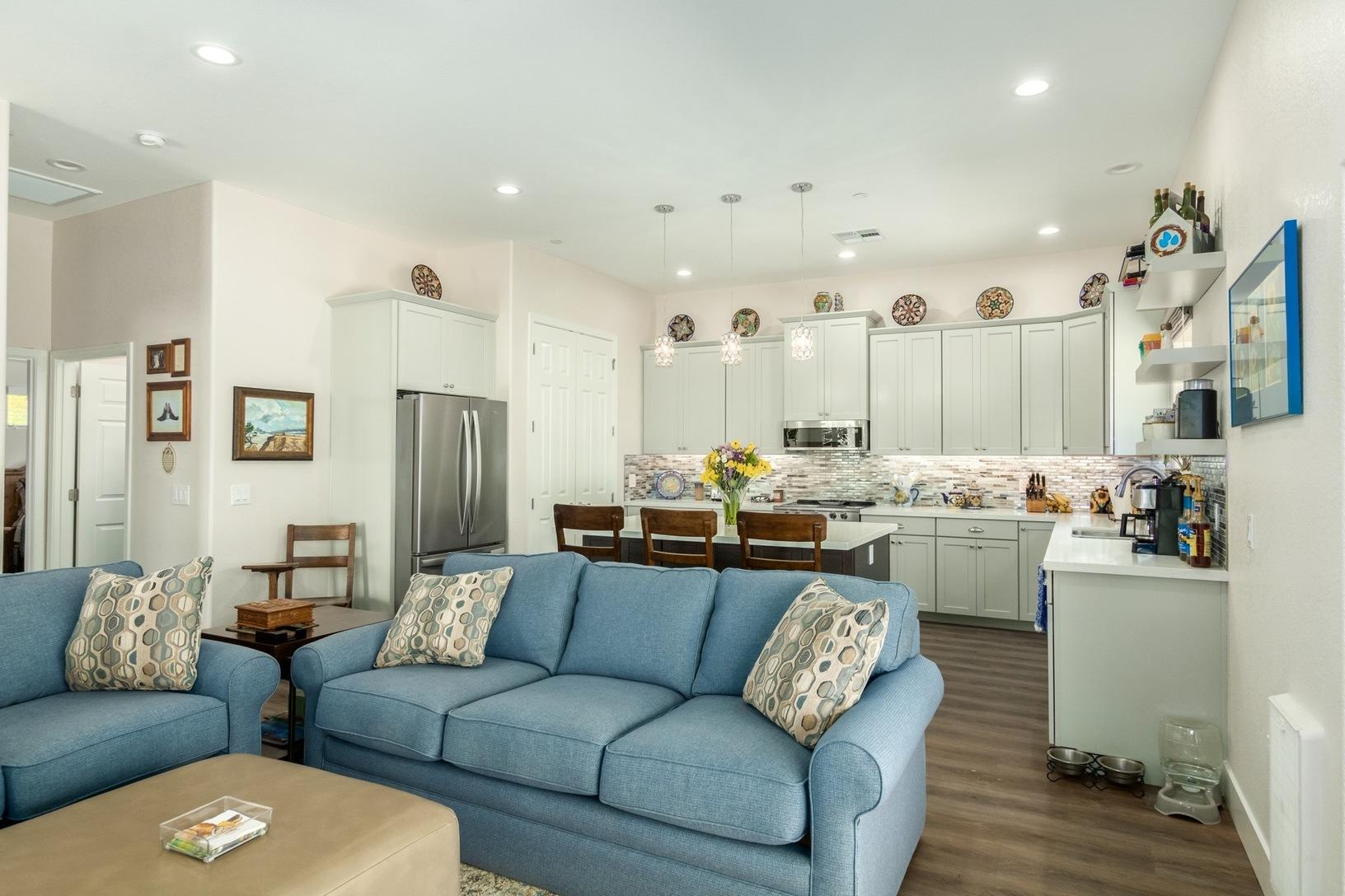 Living Space in Scottsdale Casita