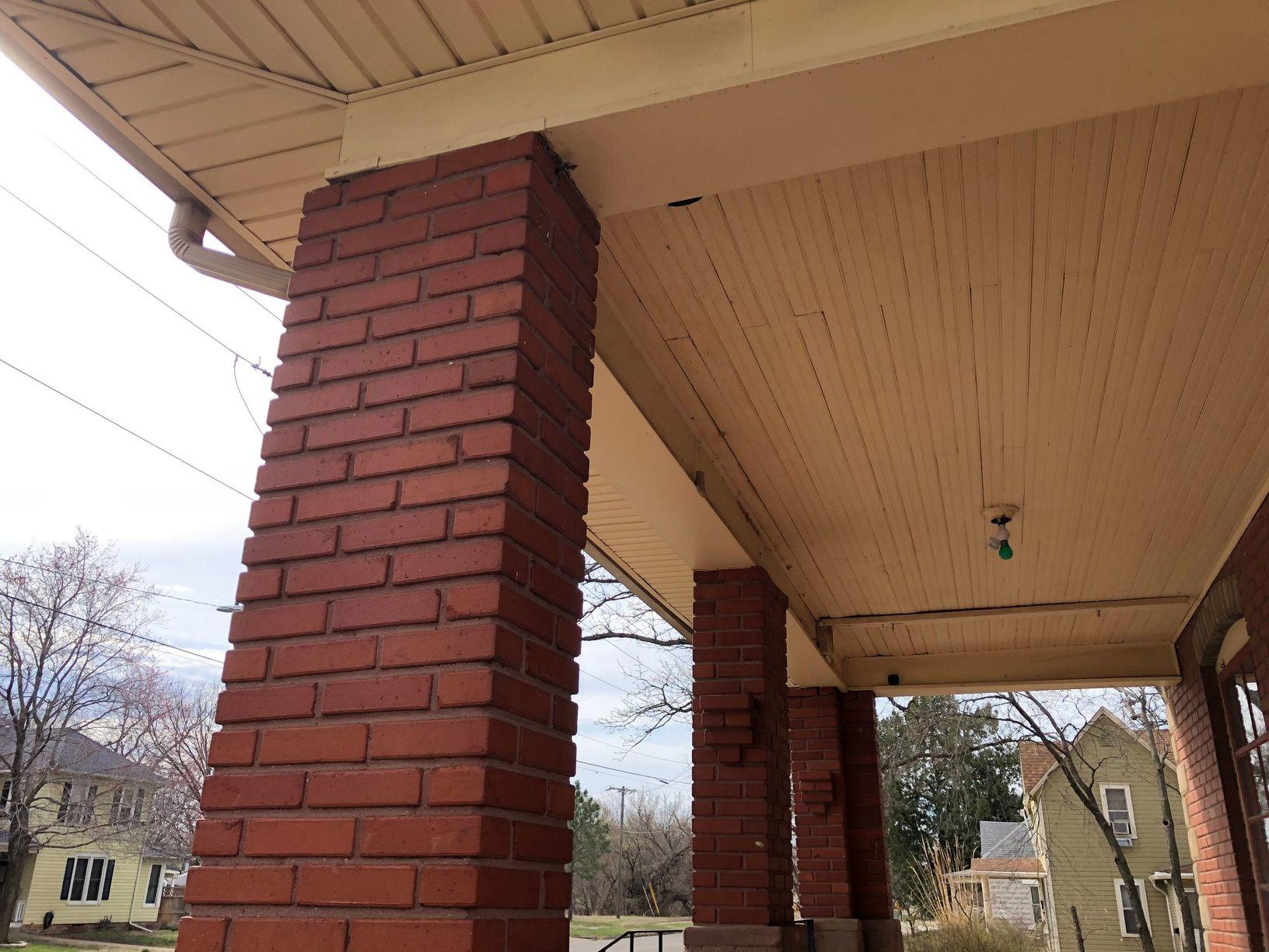 Columns after Helical Pier installed
