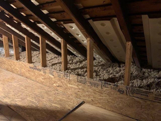 Cellulose Insulation Install- Valley Stream, NY