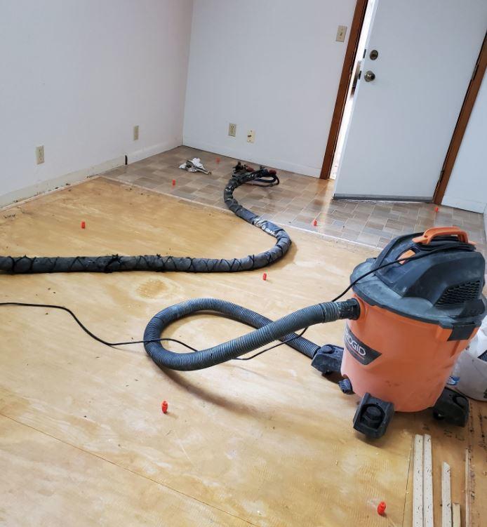 Mid Project: Concrete Leveling