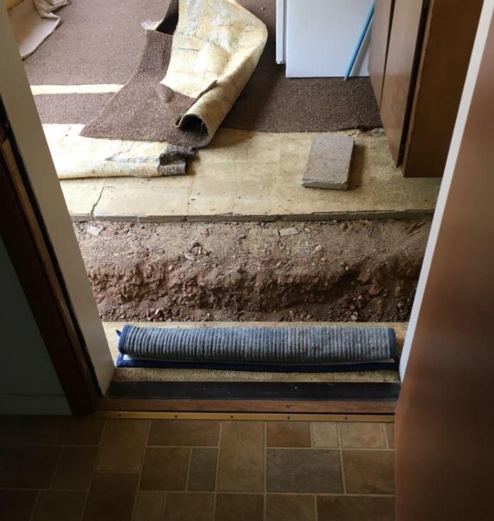 Concrete Leveling Near Front Door