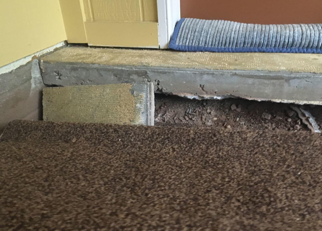Gaps & Voids Under a Concrete Slab