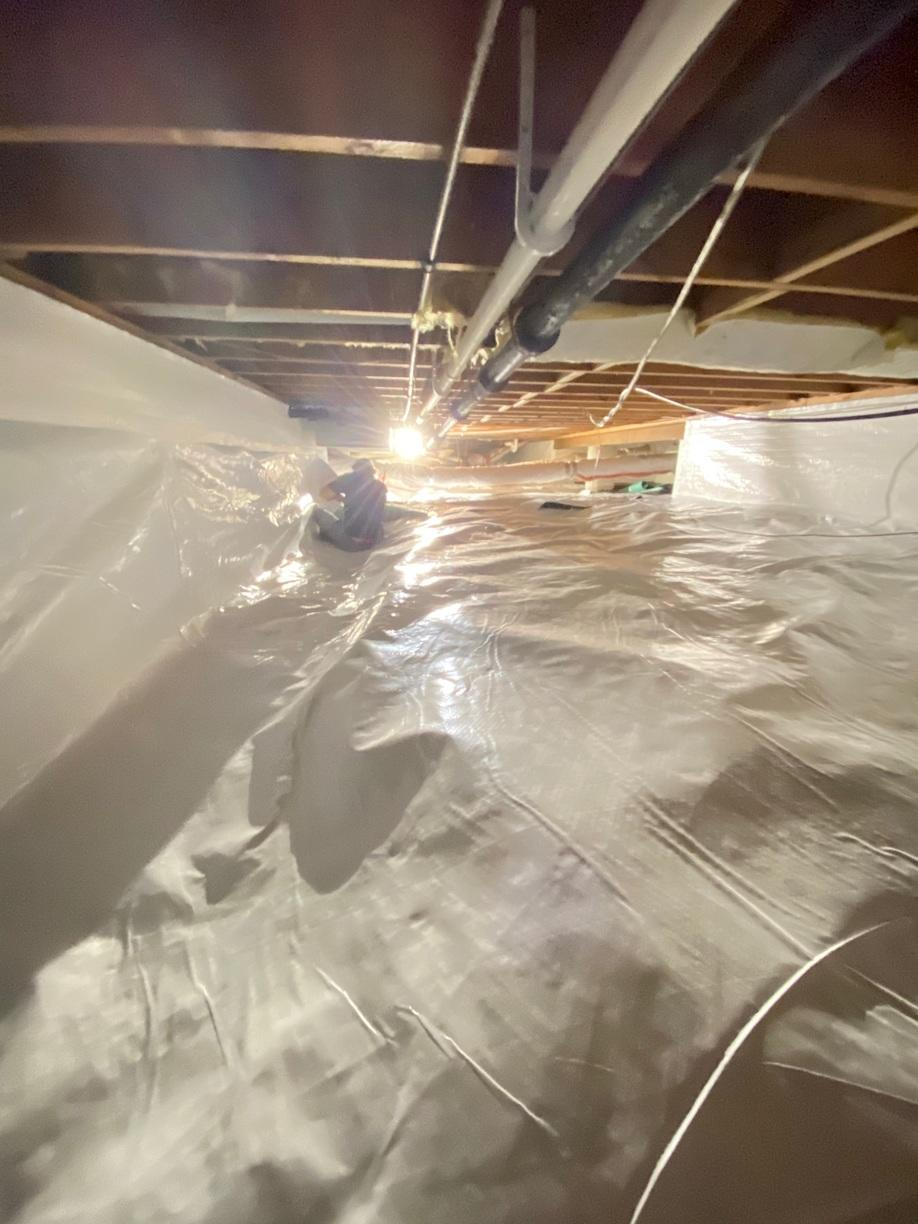 Crawl Space is Encapsulated