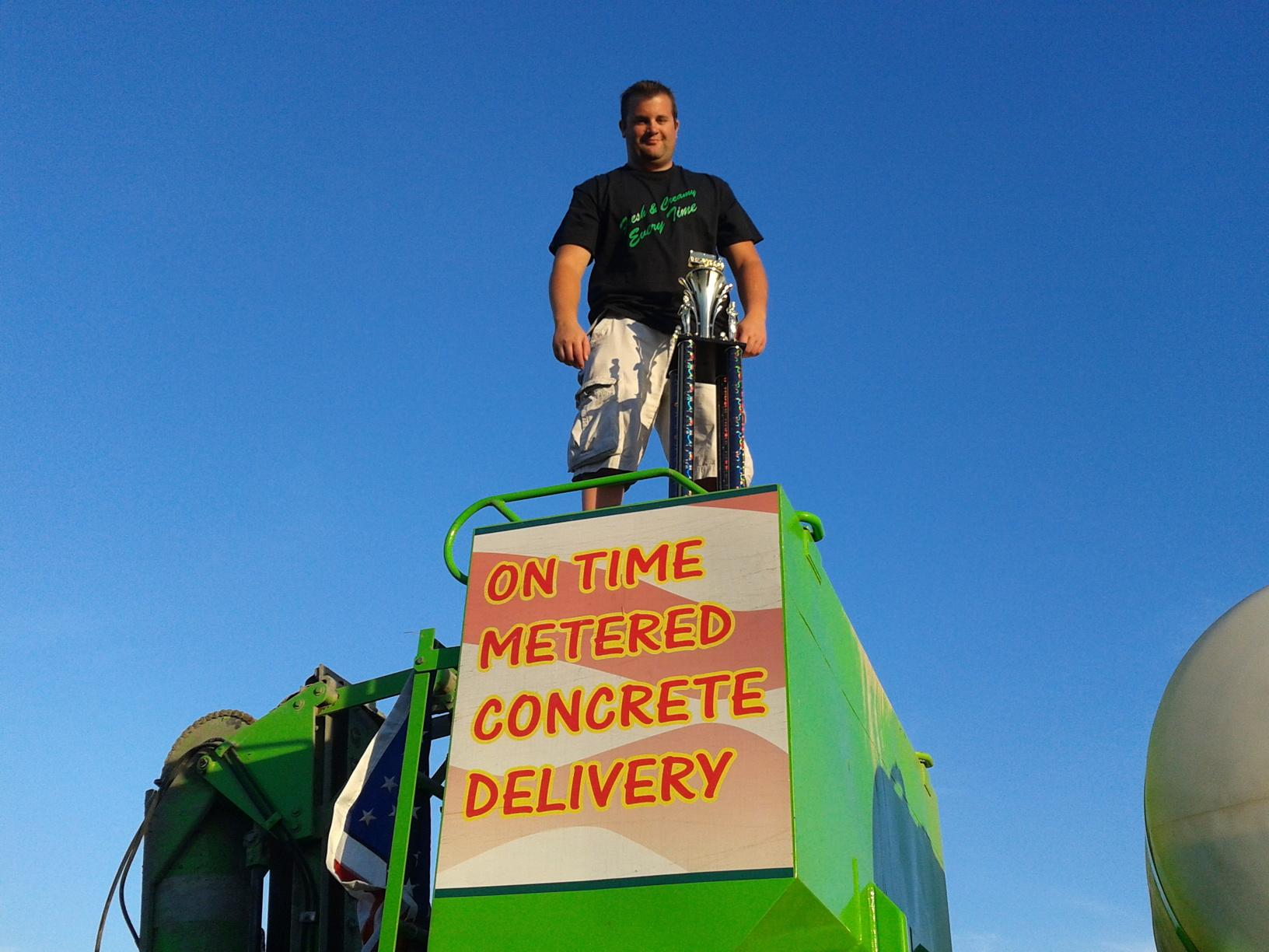 Taking Quality Concrete To New Heights...