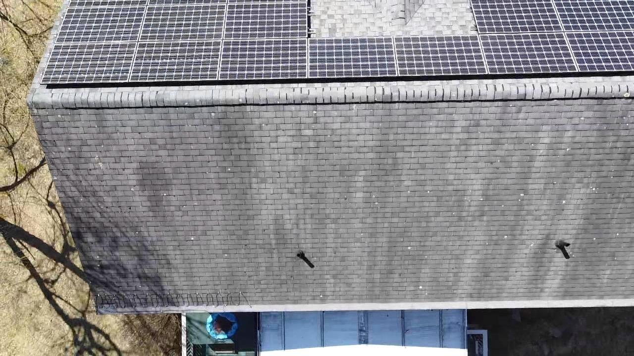 Birds-eye View of the Roof