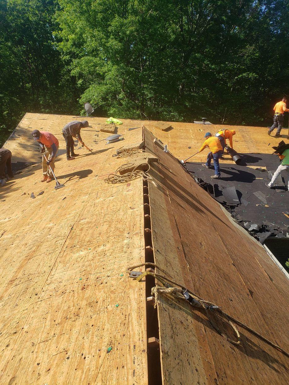 Replacing and Repairing Roof Deck