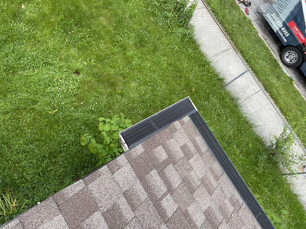 Gutter Guard System in Indianapolis, IN