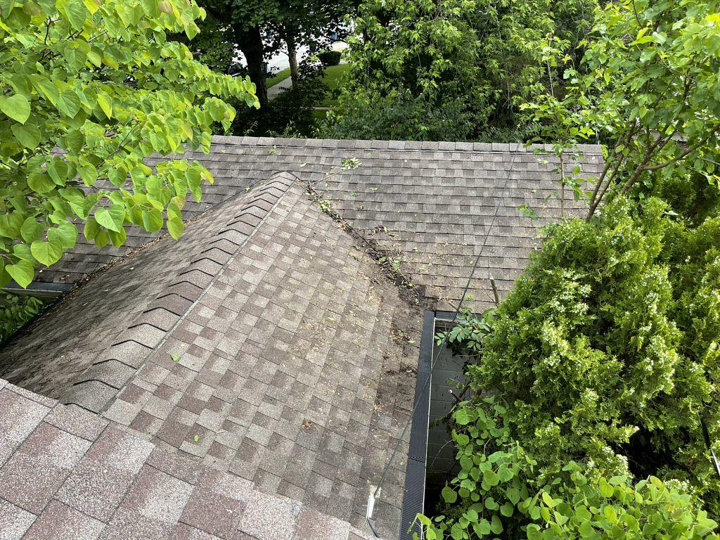 Gutter Guards installed in Indianapolis, IN