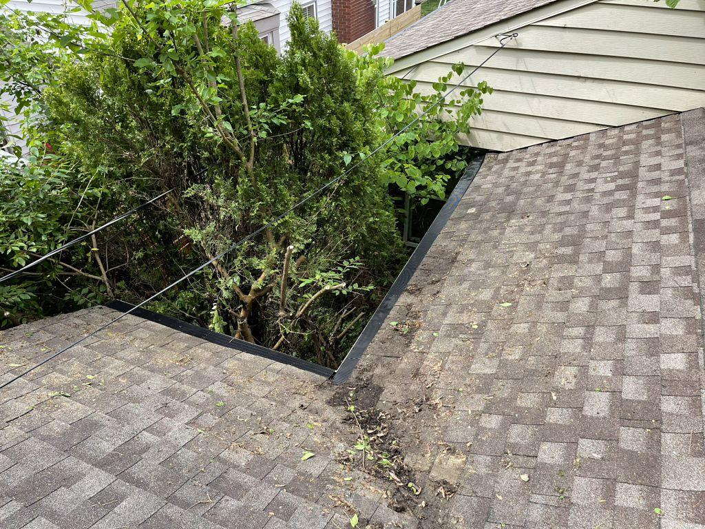 Indianapolis Gutter Guard Install