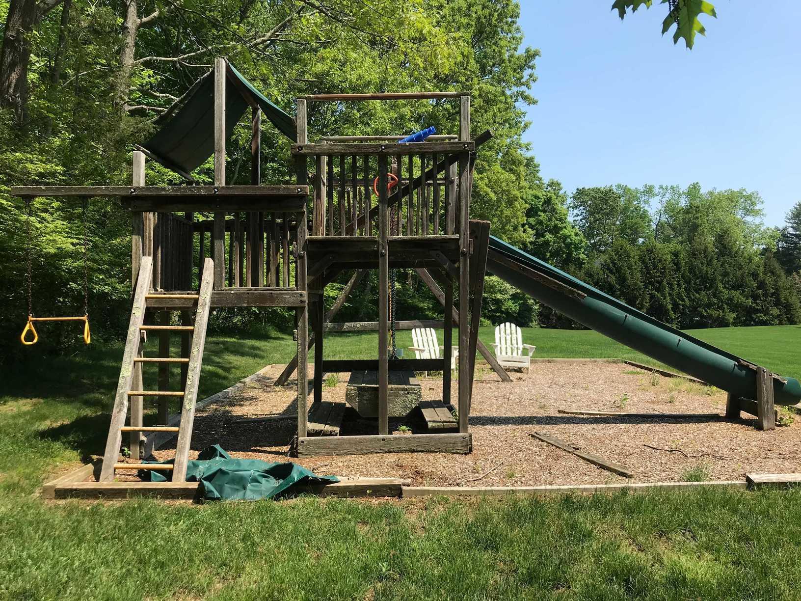 Playground Set Prior to Removal #2
