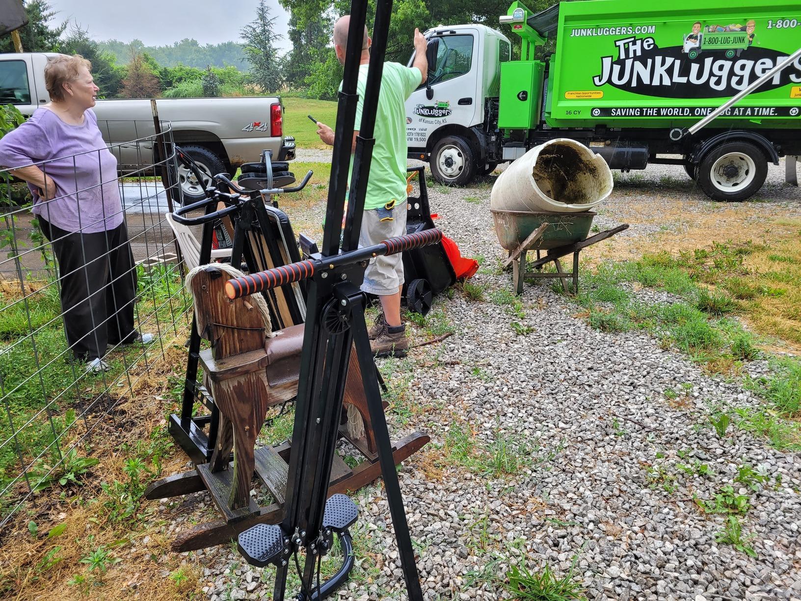 Exercise Equipment Removal in Olathe, KS