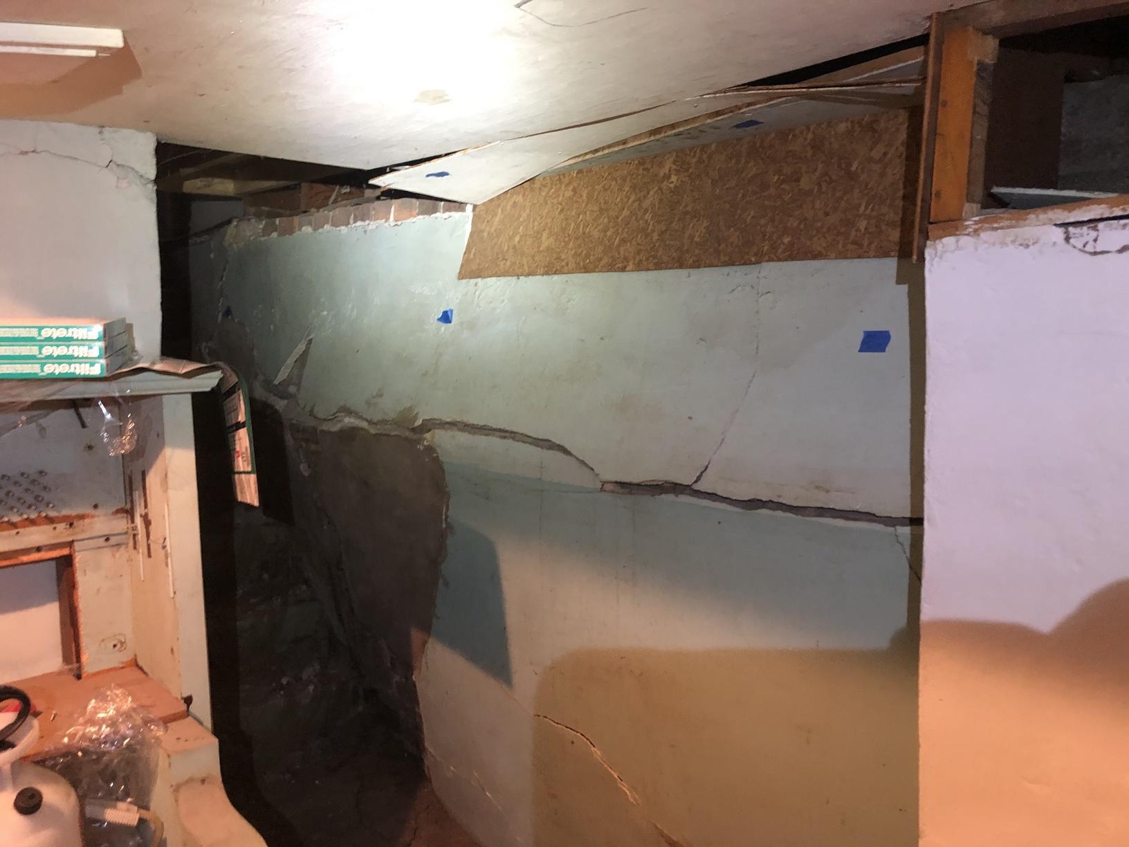 Severe Wall Failure