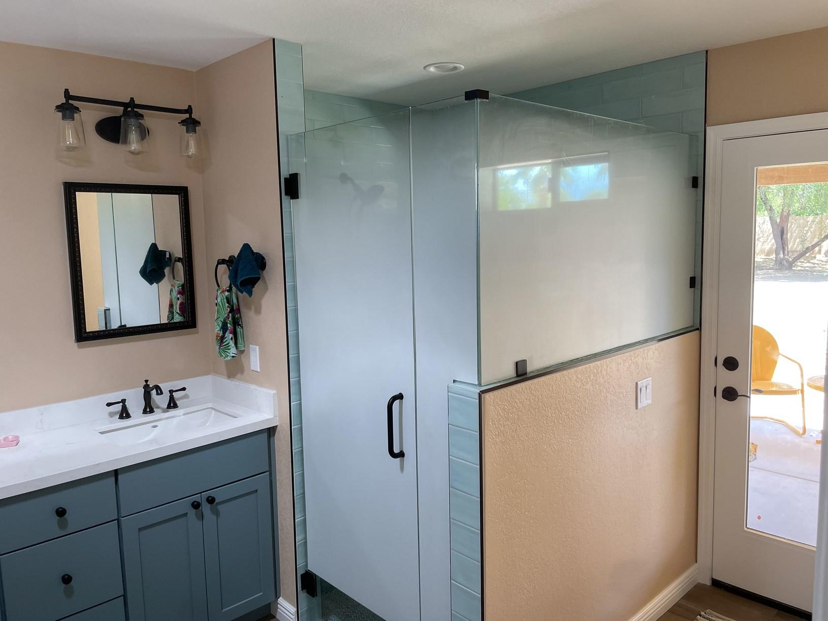 Master Shower in Scottsdale