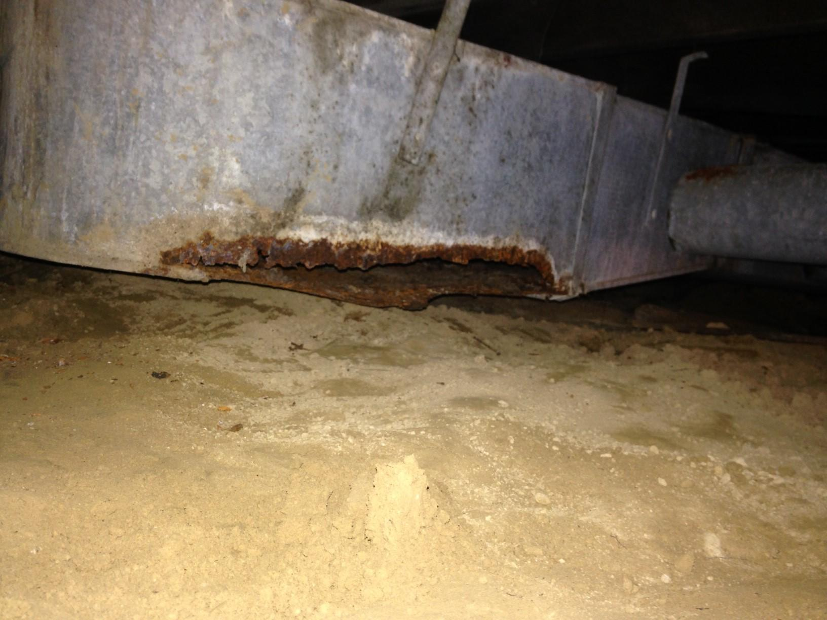 Missing Crawlspace Support