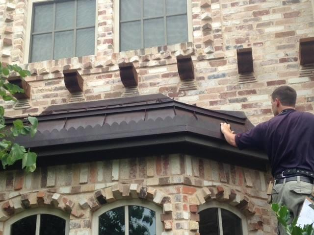 Copper Awning Services in Colleyville, TX