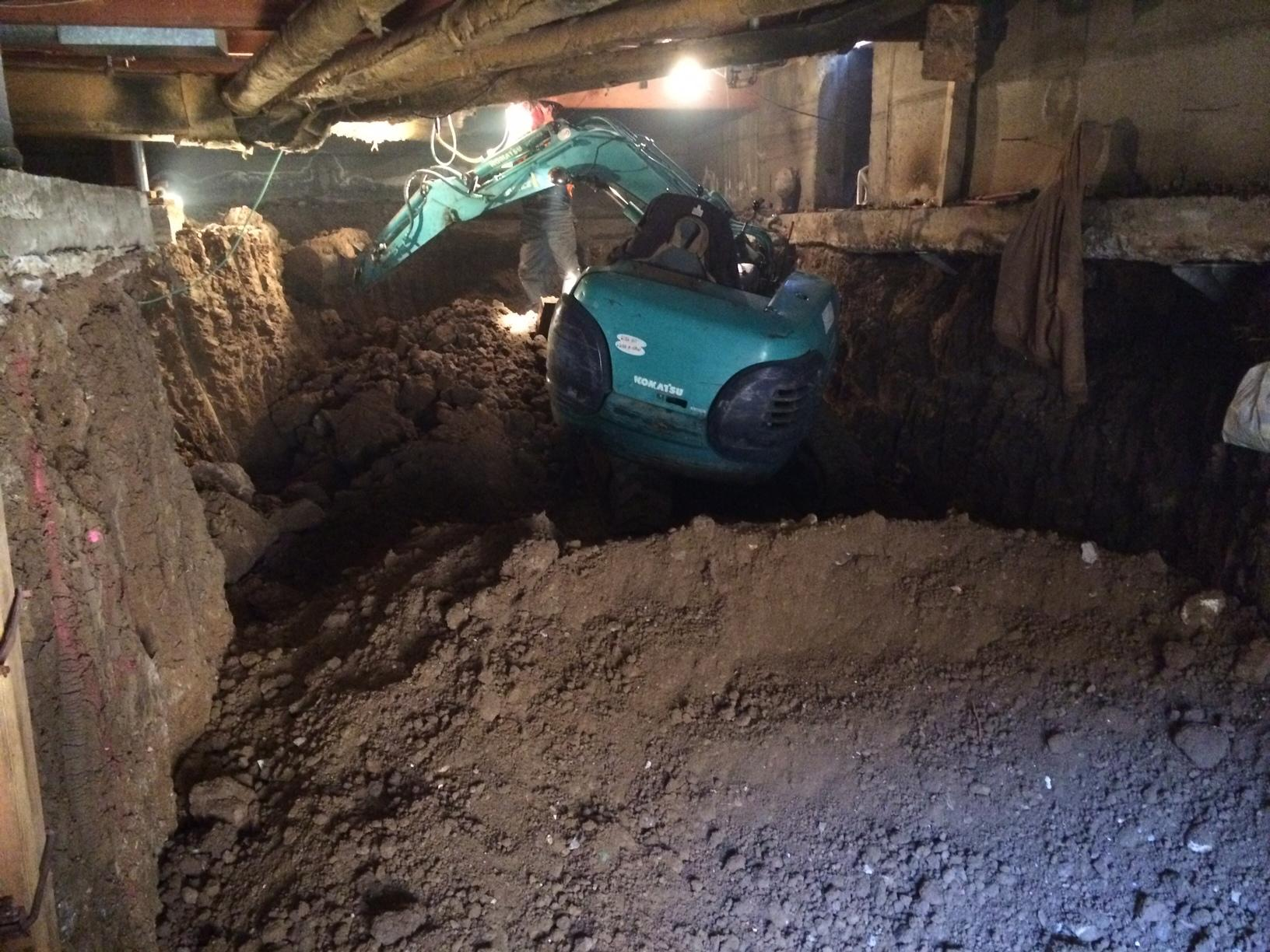 Foundation Repair Releveled In Reno Nv How To Dig A Basement Under An Existing House 89503