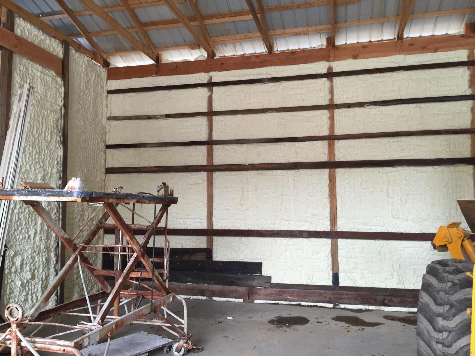 Pole Barn walls