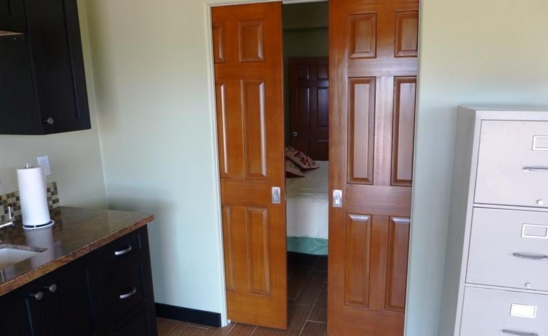Casita Pocket Doors