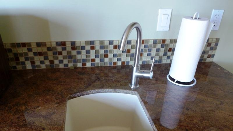 Kitchenette Sink in Casita