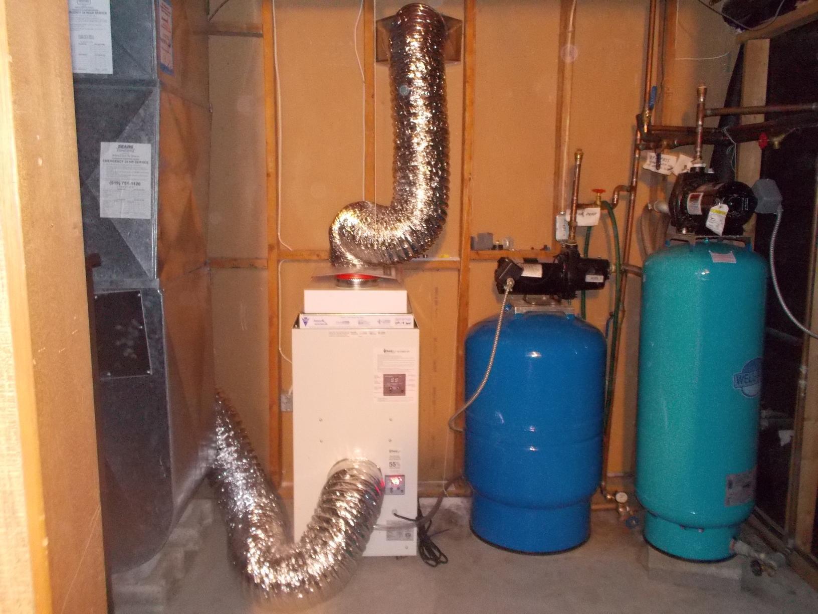 Hagersville Dehumidifier Installation