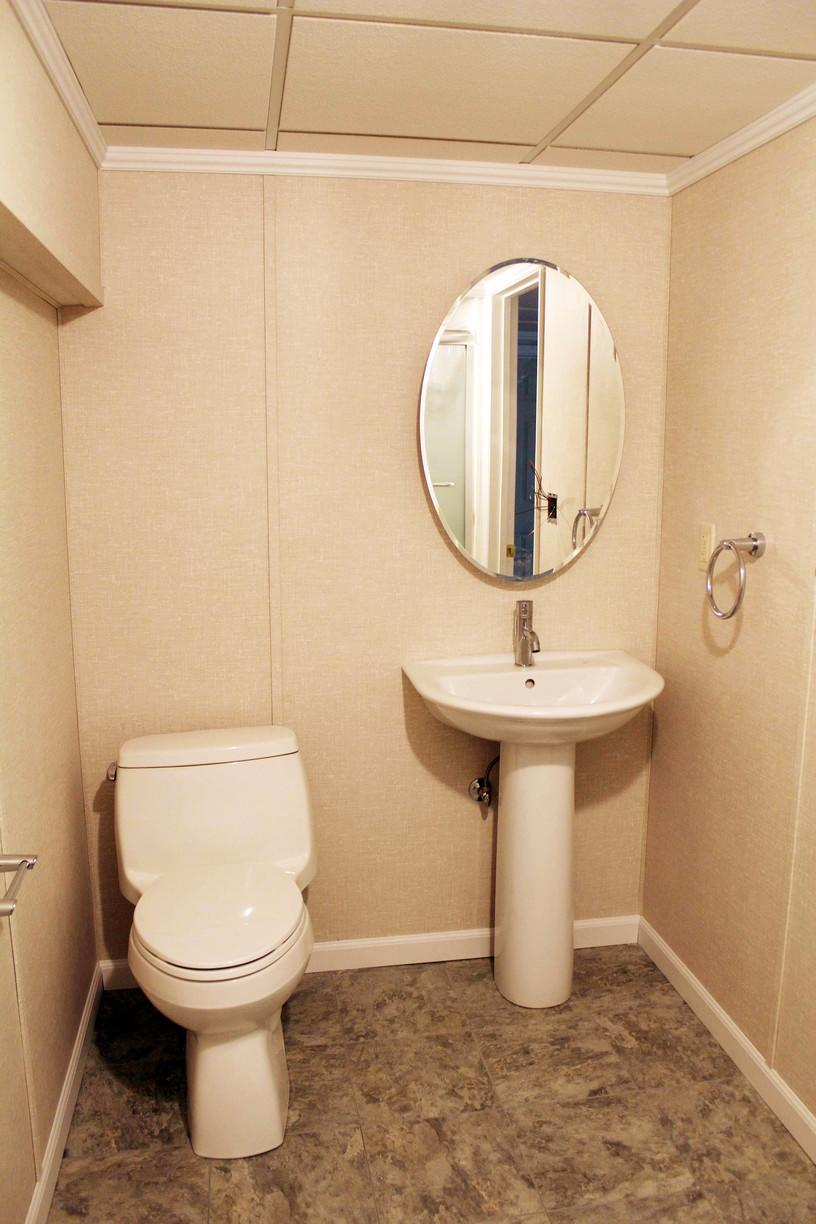 Finished Basement Bathroom in Somers, CT