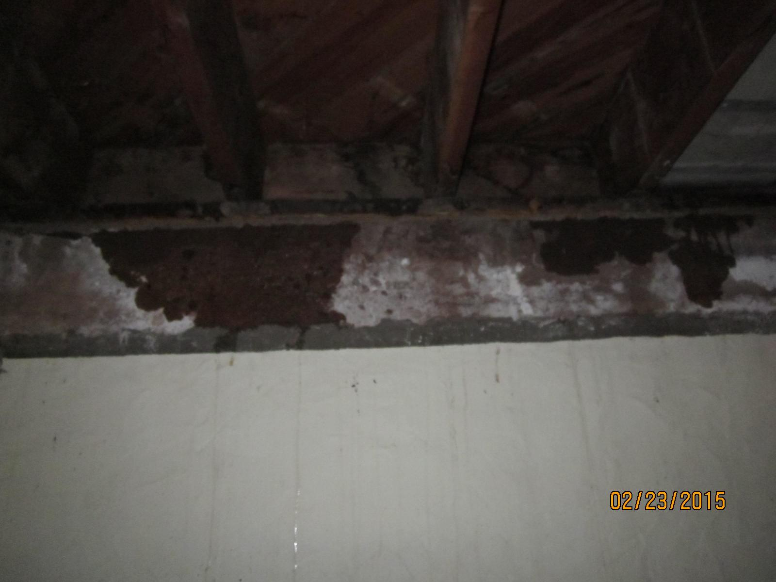 Water Continues to Leak Inside Home