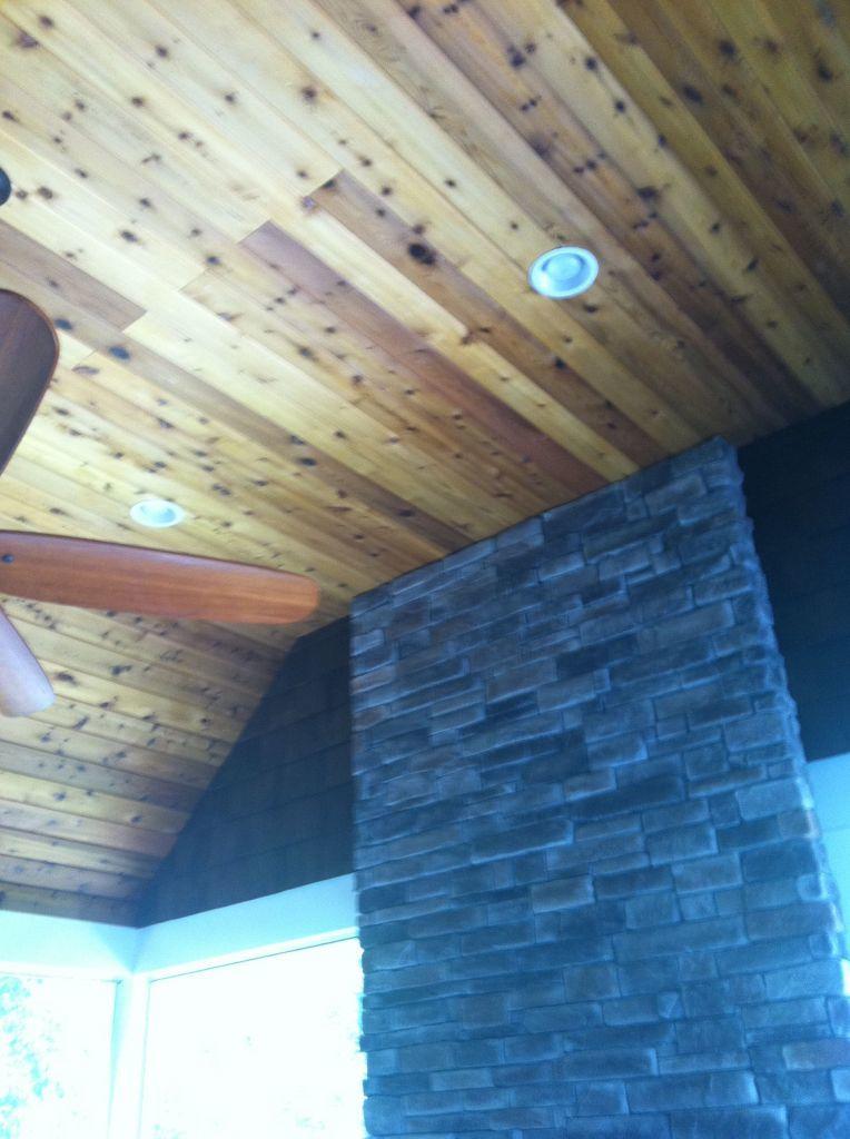 Wood Ceiling Remodel in Missouri