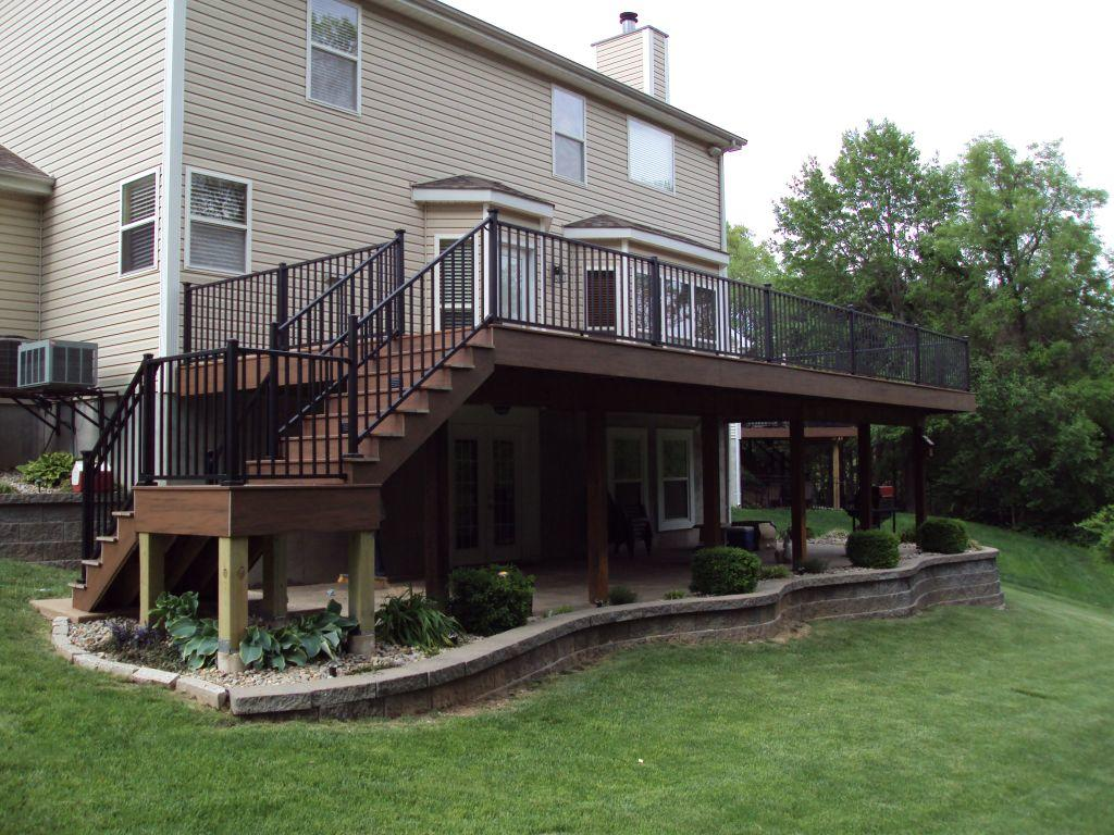 Composite Deck Installation in Missouri