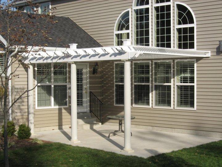 Modern Home Pergola Install in MO