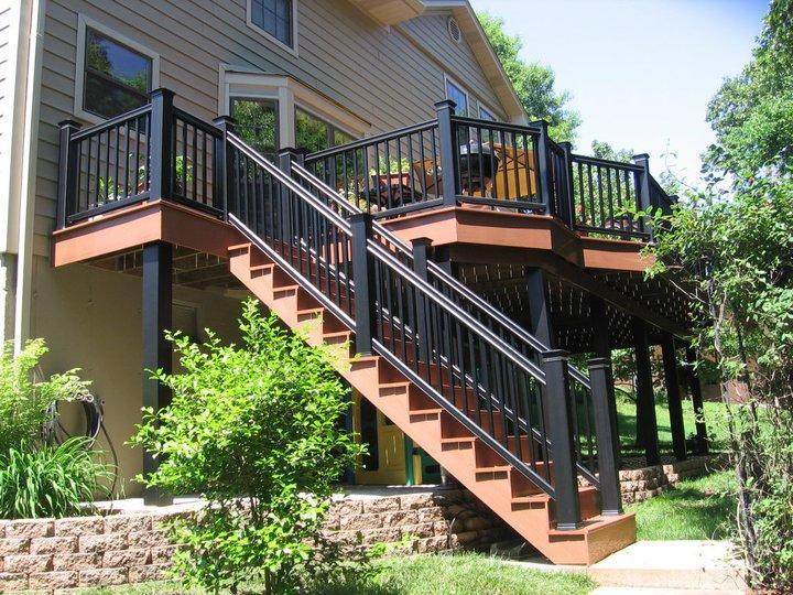 Deck Staircase Installation
