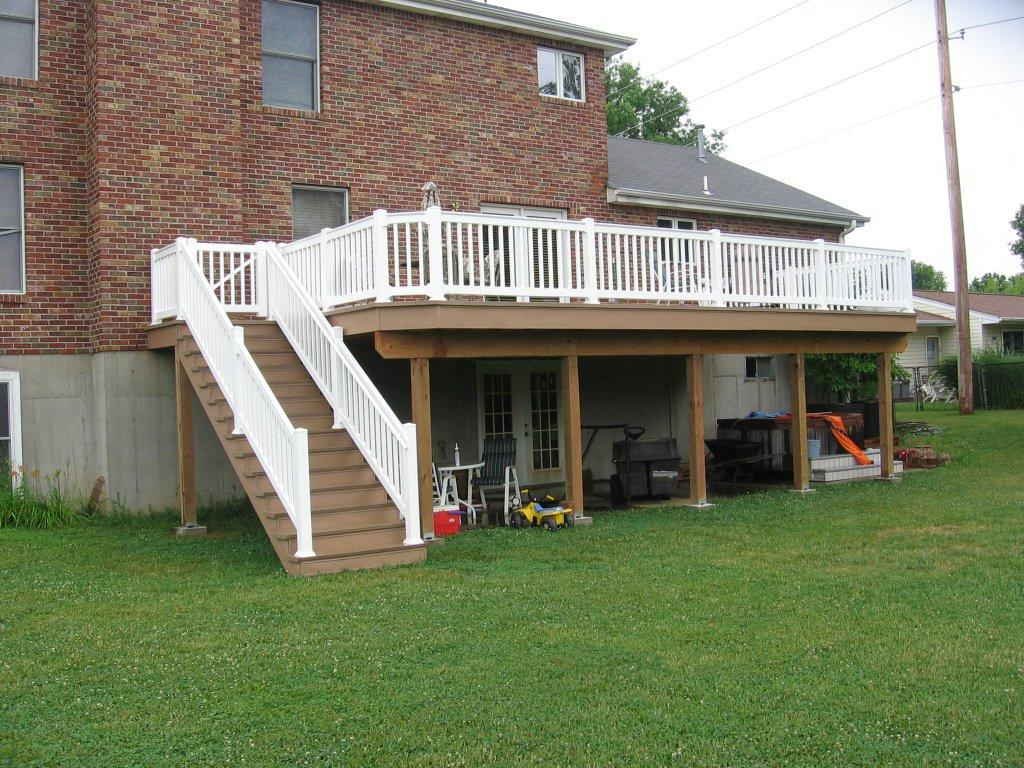 Move Deck Stairs