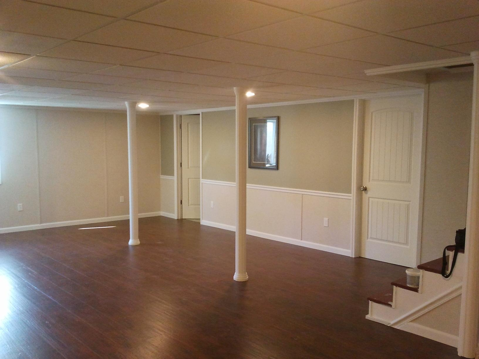 Total Transformation in Medway Maine Basement