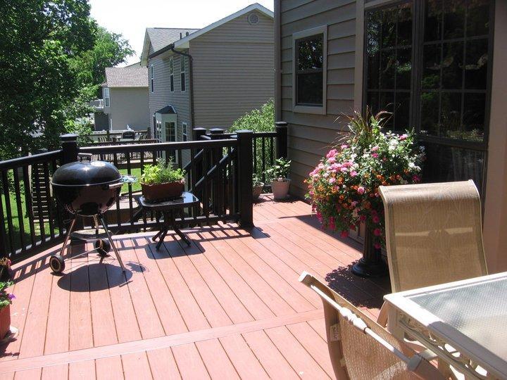 Barbeque Deck Installation