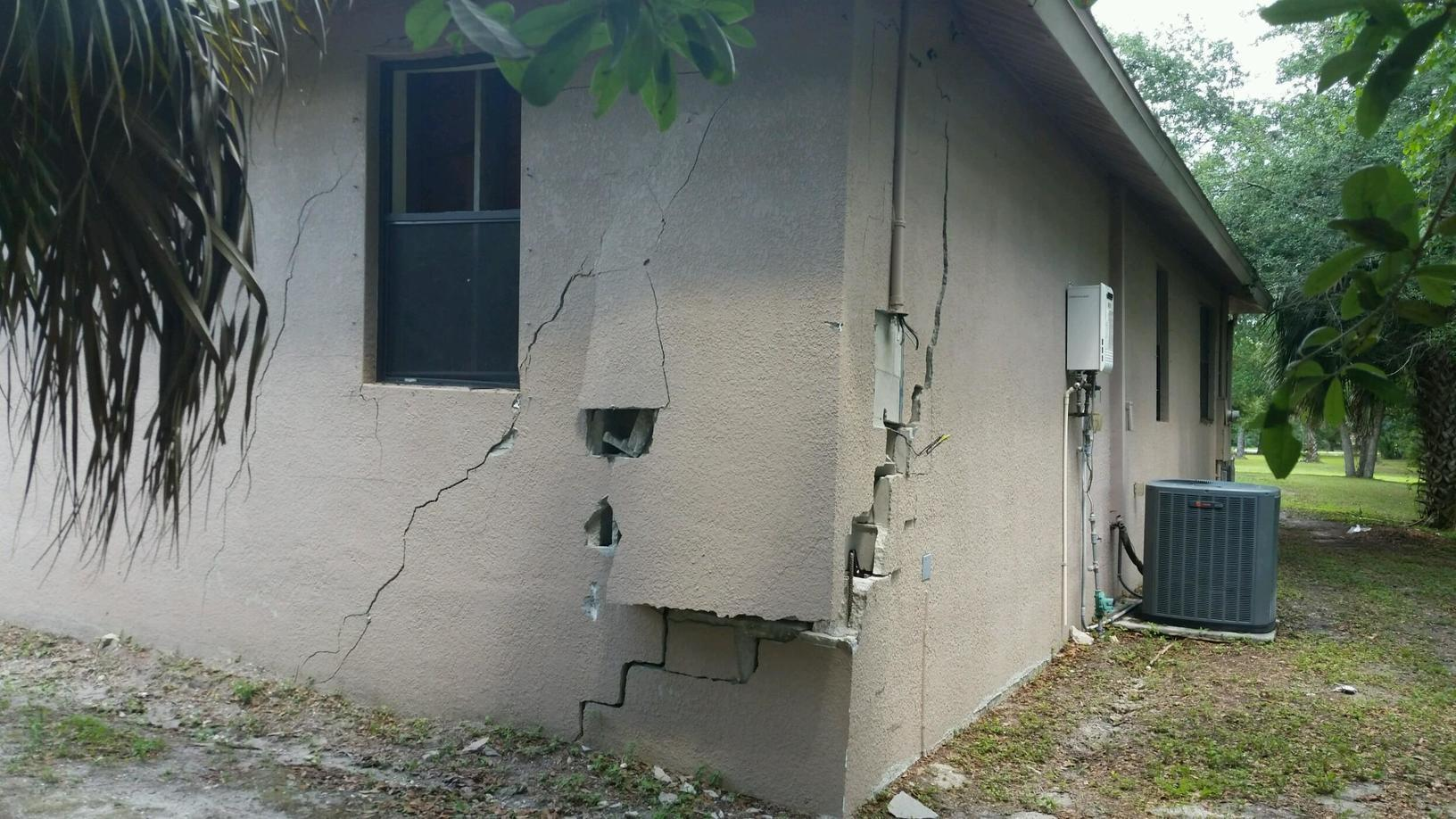 Foundation Wall Collapse