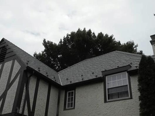 Davinci Slate Tile Roof Installed In Ny Davinci Slate