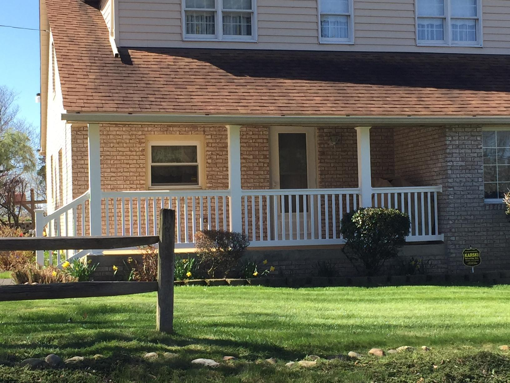 Pro Fence & Railing - Handrails - New Porch Posts and ...