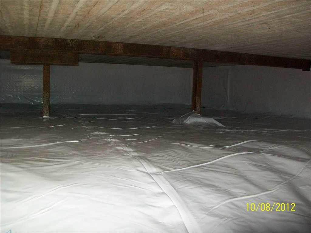 Crawl Space with CleanSpace Liner