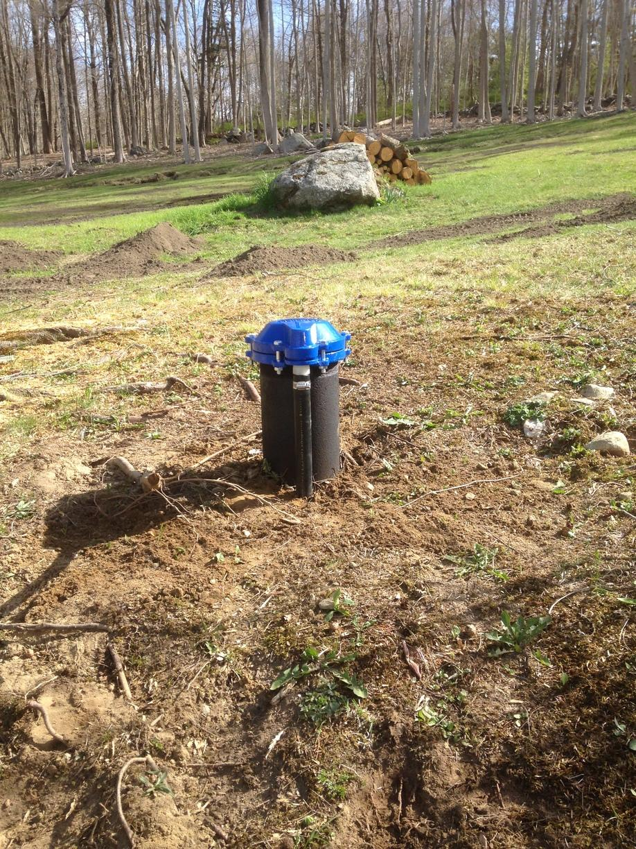Well Cap Replacement Installed in Redding, CT