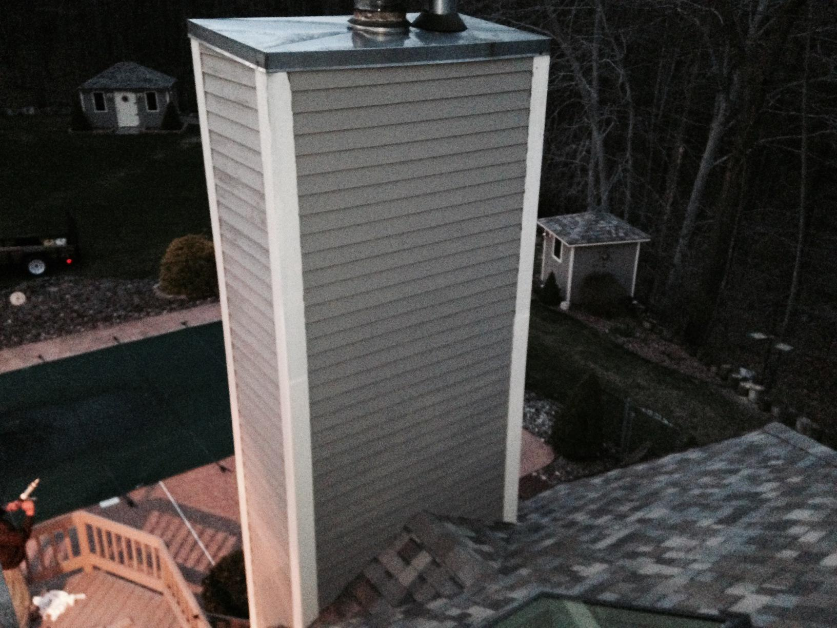 Roofing Project And Chimney Siding In Prospect Ct