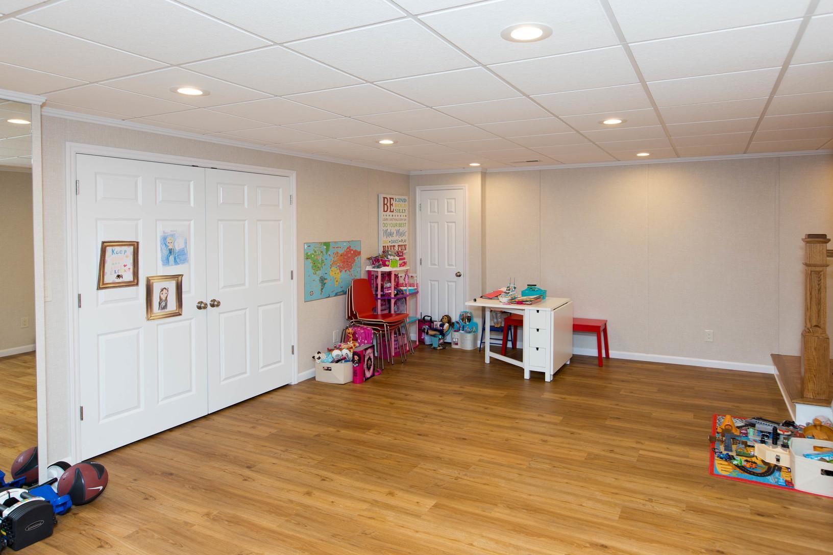 Basement Playroom - AFTER