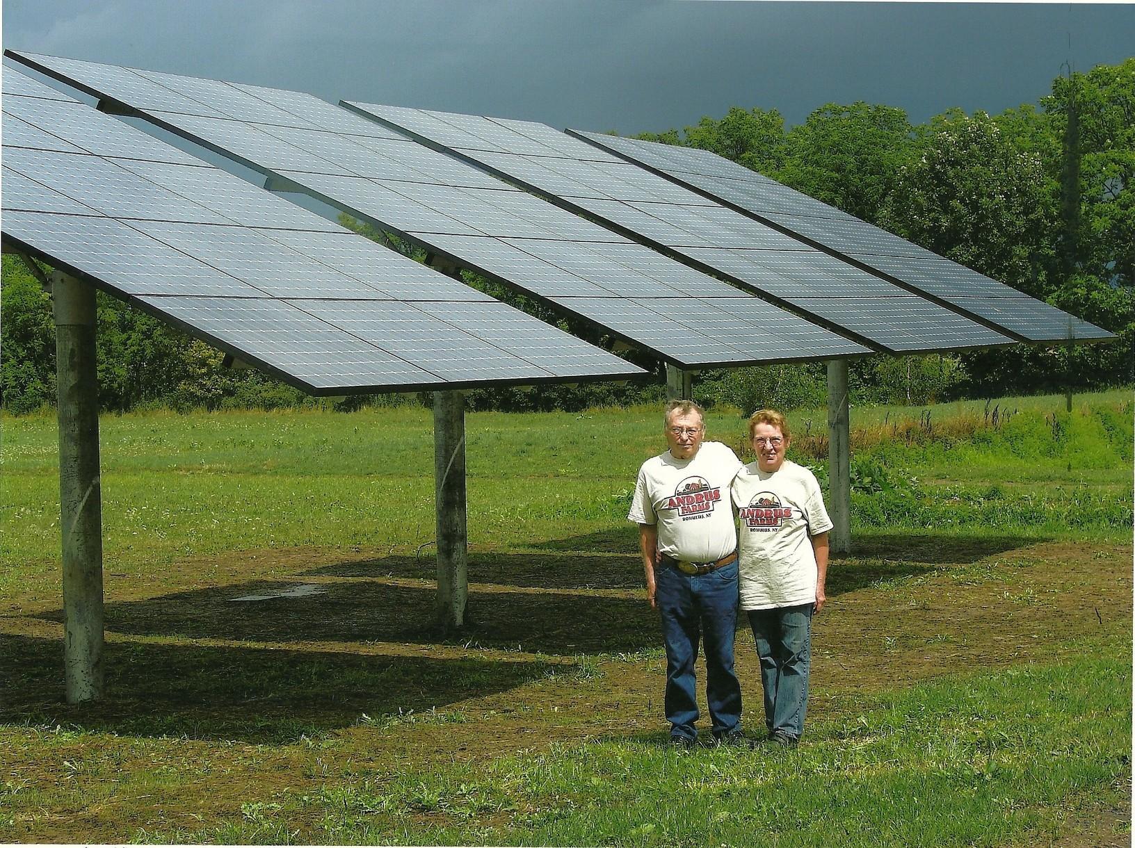 Solar Installation in Romulus, NY