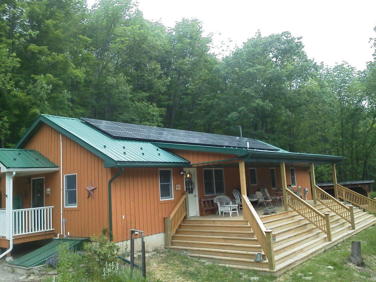 Solar Electric System in Canisteo, NY