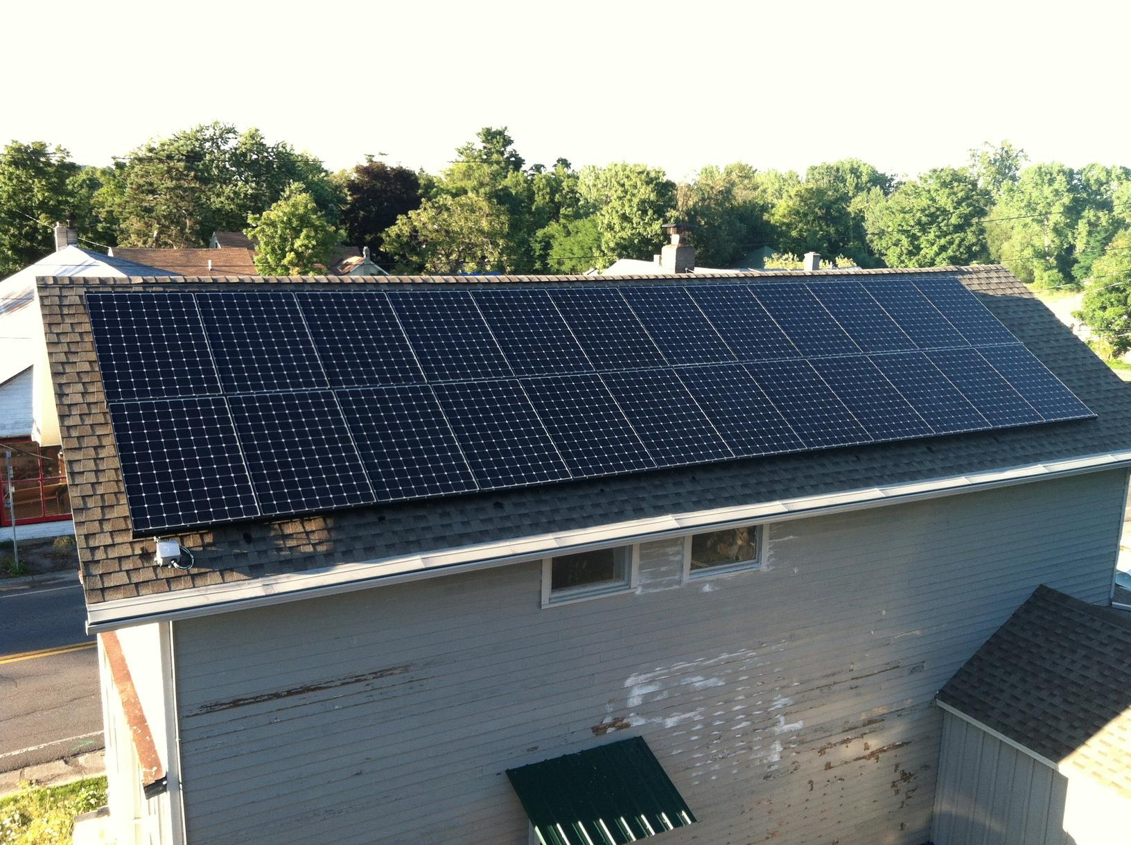 Trumansburg, NY Home Goes Green with Solar