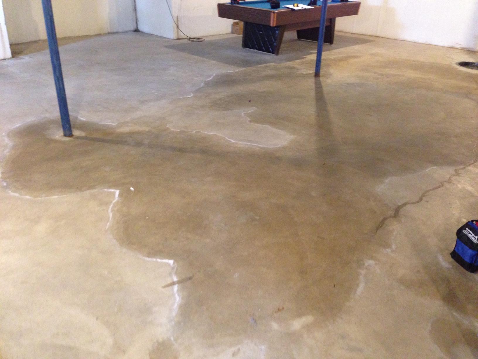 Basement Waterproofing Waterproofing Leaky Basement In Worden