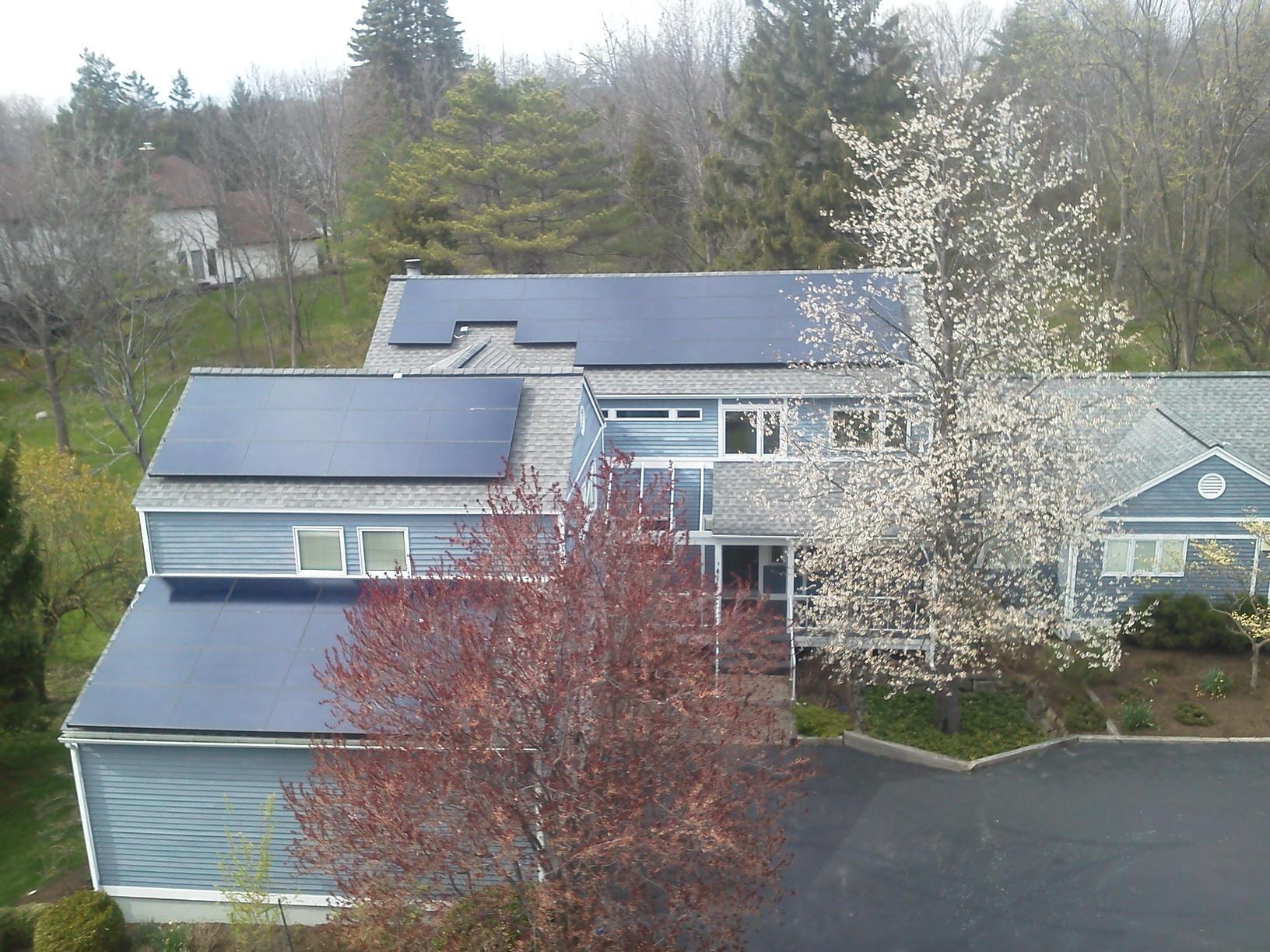 Solar Install in Ithaca, NY