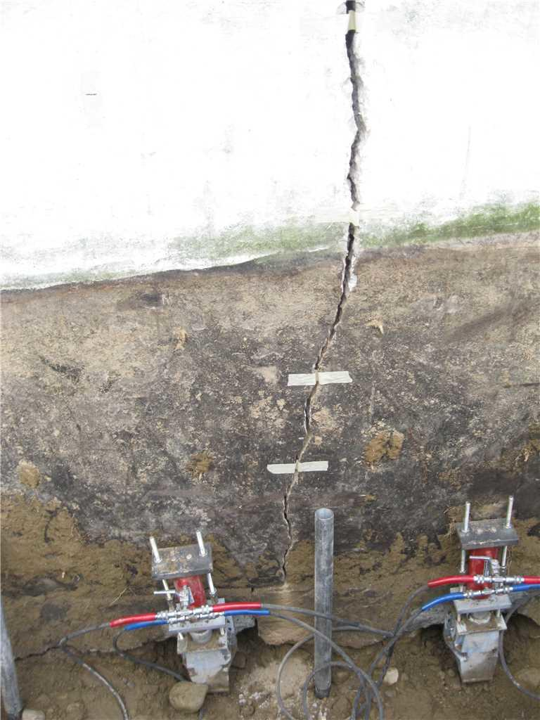 Closing Foundation Cracks